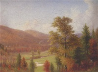 autumn landscape by walter field