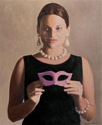 figura con maschera by antonio sciacca
