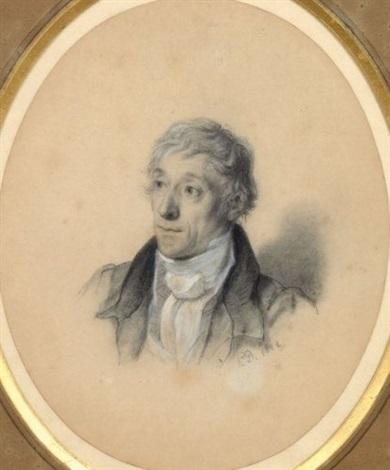 le comte dauberjon de murinais en buste by paul hippolyte delaroche