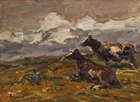 cattle by adriaan hendrik boshoff