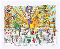 dance with sunbeams by james rizzi