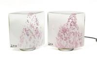 idra coppia di lampade da tavolo (pair) by rosanna toso