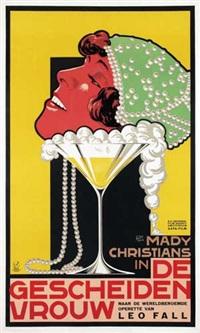 mady christians in: de gescheiden vrouw by frans bosen