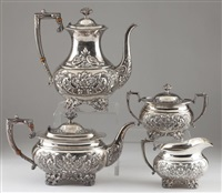 donatello service (set of 4) by amston silver (co.)