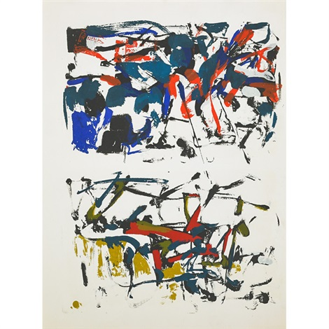 untitled saguaro sunrise from desert visions series by joan mitchell