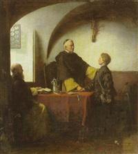 abschied des klosterschülers by max paul emil buettner