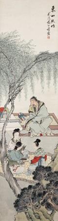 人物 by huang shanshou
