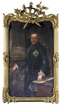 portrait of king frederick ii of prussia by johann georg ziesenis