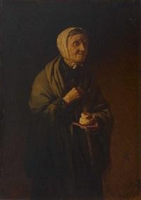 alte bäuerin by kirill vikentevich lemokh