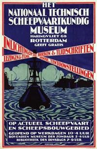 het nationaal technische scheepvaartkundig museum rotterdam by jan retel