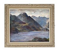 the cuillin from loch coruisk, skye by william mervyn glass