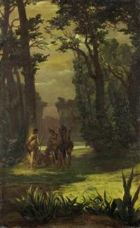 indigeni nel bosco by silvio allason