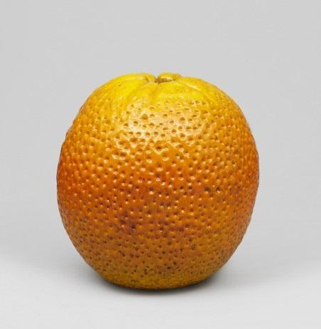 Skulptur i form av apelsin by ...