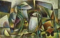 natura morta (futur-cubista 4) by roberto marcello baldessari