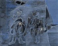 illustration to kafka by jankel adler