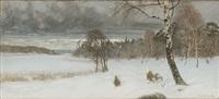 vinterlandskap by eugene fredrik jansson