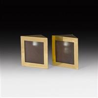 2 lampen (pair) by franz hagenauer