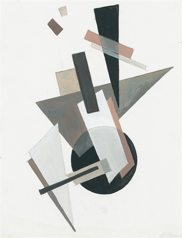 suprematistische komposition by nadia khodasevich leger
