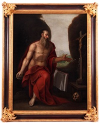 der heilige hieronymus by girolamo muziano