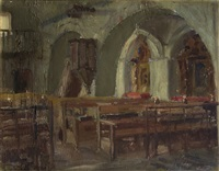interior de iglesia by alfonso grosso y sánchez