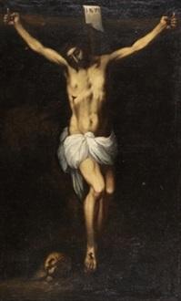 cristo en la cruz by sebastian de llanos valdes