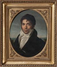 portrait dit de joseph balze, père de raymond by jérome-martin langlois