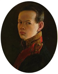 portrait of alexander ii as a boy by george dawe