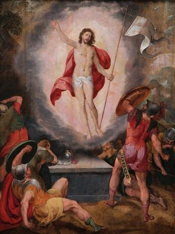 auferstehung christi by hans rottenhammer the elder