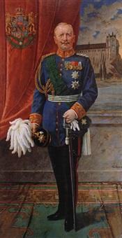 portrait von könig friedrich august iii by toni aron