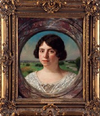 retrato de dama by jesus corredoira