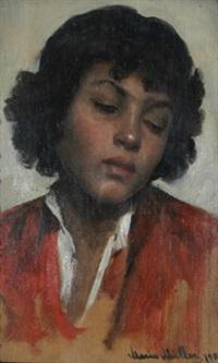 porträt einer zigeunerin by marie müller