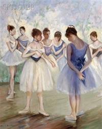 corps de ballet, back stage by allan davidson