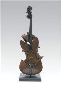 violon coupé ii - hommage à picasso by arman