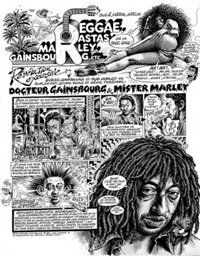 pop & rock & colegram, planche 1 by gotlib and sole