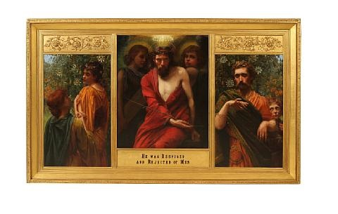 he was despised and rejected of men triptych by w savage cooper