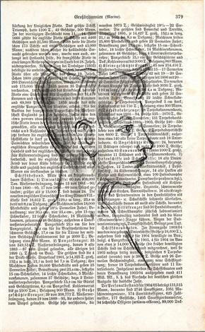 portrait einer jungen frau by ar penck