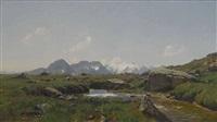 alm im hochgebirge by georg macco