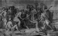 joseph wird von seinen brüdern verkauft by eduard baerwinkel