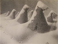 january by grant wood