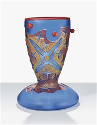 star man, a vase by dan dailey