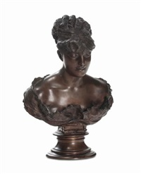 busto di dama by vincenzo gemito