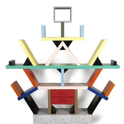 carlton room divider by ettore sottsass