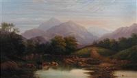 welsh landscape by leslie e. b. smythe