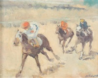 down the backstretch by frederick mcduff