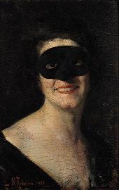 donna in maschera by nicola arduino
