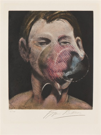 portrait de peter beard by francis bacon