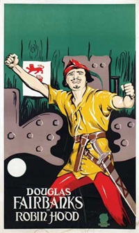 douglas fairbanks in robin hood by frans bosen