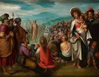 predicación de san juan bautista by frans francken iii