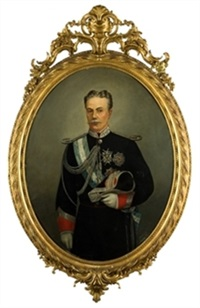 retrato con uniforme by augusto manuel de quesada