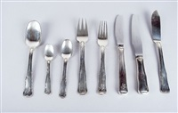 silberbesteck (set of 66) by georg jensen (co.)